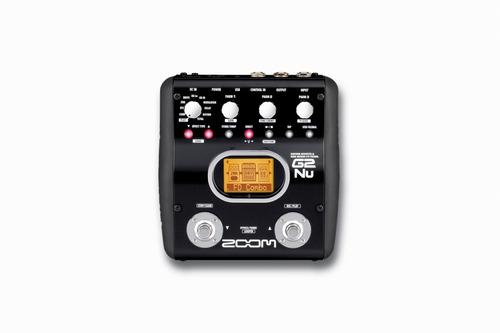 pedal para guitarra electrica zoom g2n4