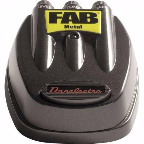 pedal para guitarra fab metal danelectro d-3 en cuotas