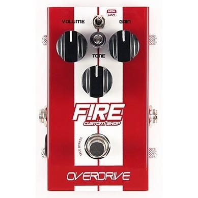 pedal para guitarra fire overdrive