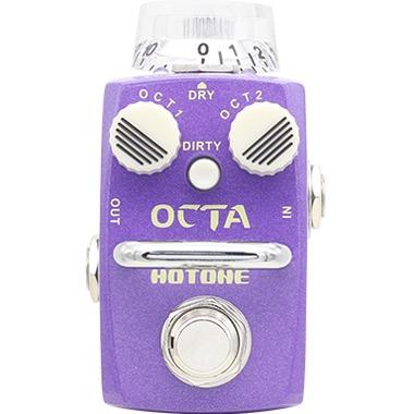 pedal para guitarra hotone octave pedal soc1 music box