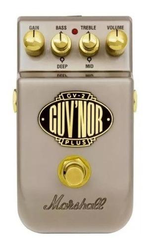 pedal para guitarra marshal guv'nor gv-2