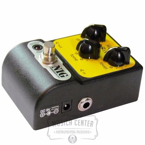 pedal para guitarra overdrive nig hot drive phd violão baixo