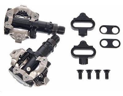 pedal pd-m520 shimano preto de encaixe c/ taquinho spd