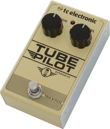 pedal p/guitarra tube pilot overdrive - tc electronic + nf - com nota fiscal e garantia de 2 anos proshows!