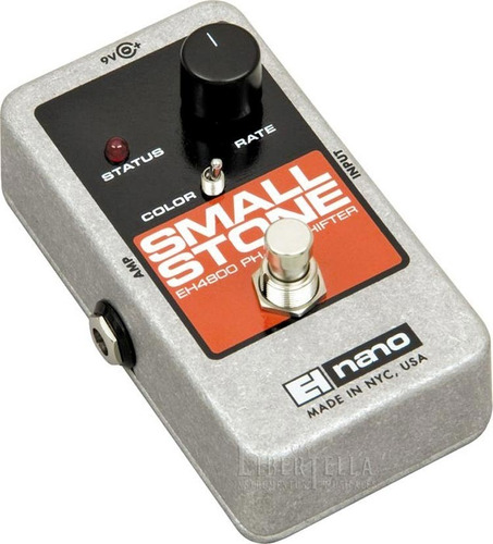 pedal phase shifter electro harmonix nano small stone