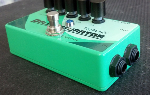 pedal pigtronix polysaturator overdrive distorsion guitarra