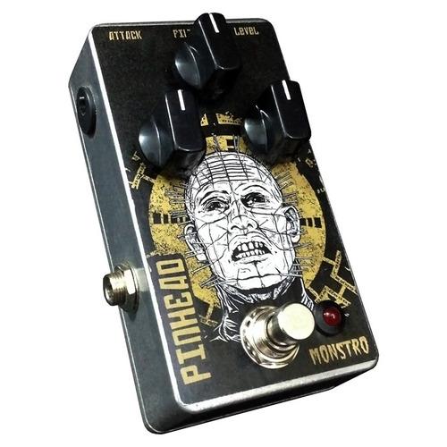 pedal pinhead fuzz para guitarra monstro effects handmade