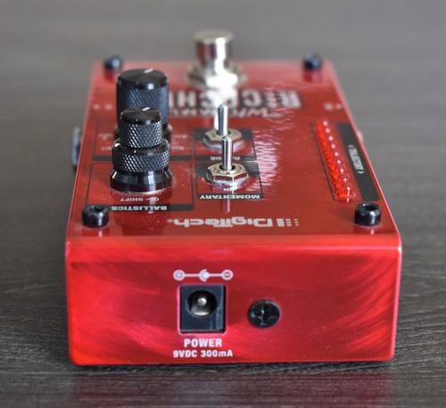 pedal pitch shifter para guitarra, digitech whammy ricochet