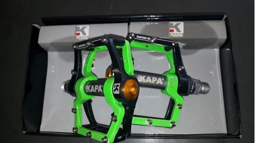 pedal plataforma kapa com rolamentos aluminio