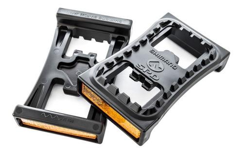 pedal plataforma shimano sm-pd22 mtb clip encaixe original