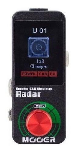 pedal radar simulador de gabinete ms1 - mooer
