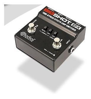 pedal radial bigshot efx selector de loop de efectos