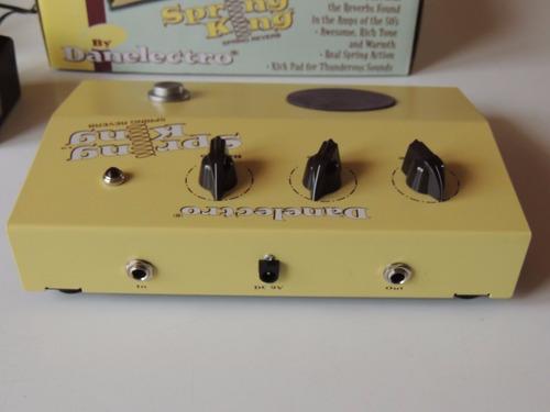 pedal reverb danelectro spring king reverb dsr1 efecto