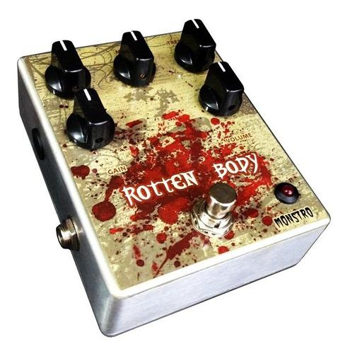 pedal rotten body high distortion gain death metal monstro