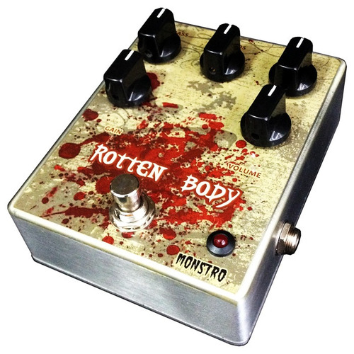 pedal rotten body high distortion gain death metal monstro