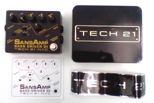 pedal sansamp bass driver di tech 21