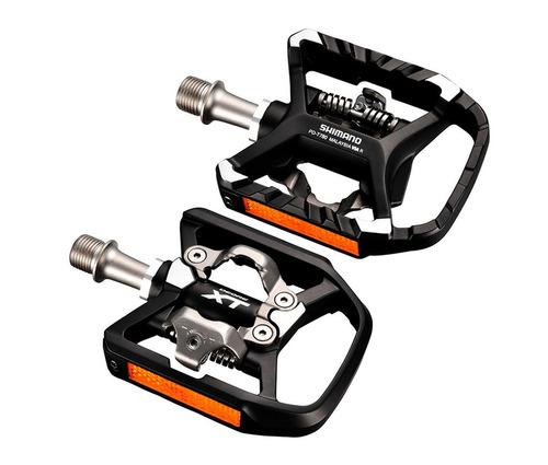 pedal shimano deore xt pd-t780 preto promocao