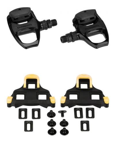pedal shimano pd-r540 preto speed com tacos original com nf