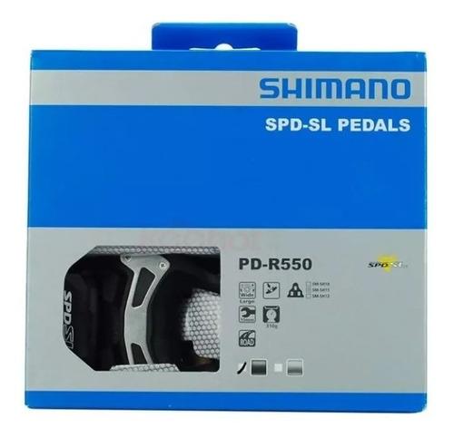 pedal shimano pd-r550 speed road com tacos