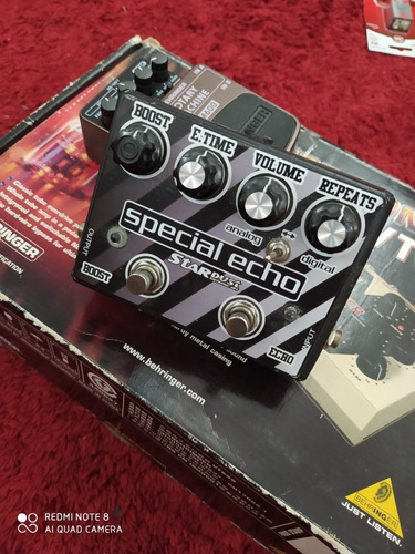 pedal stardust special echo delay