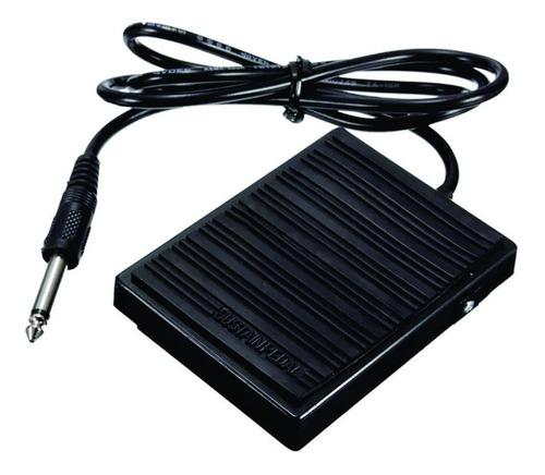 pedal sustain mellody tb200 teclado piano bateria eletronica
