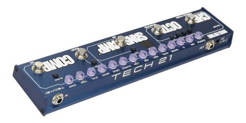 pedal tech 21 bass fly rig sansamp