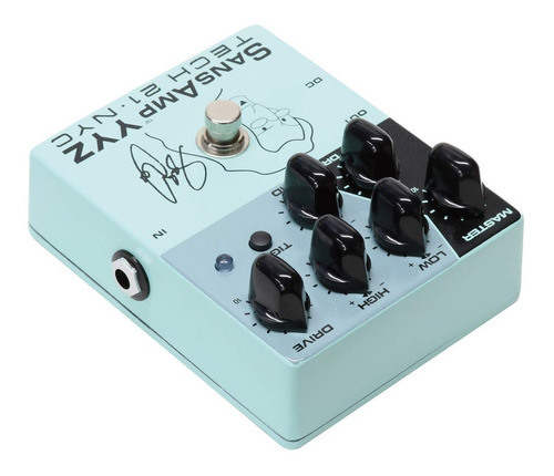 pedal tech 21 geddy lee signature sansamp yyz