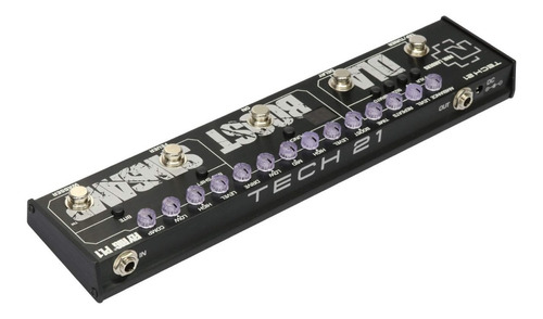 pedal tech 21 paul landers pl1 signature fly rig sansamp