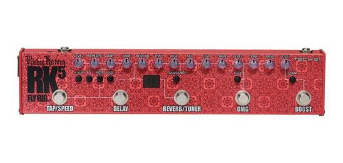 pedal tech 21 richie kotzen signature fly rig rk5 v2 sansamp
