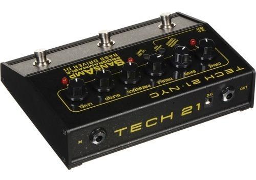 pedal tech 21 sansamp programmable bass driver pbdr