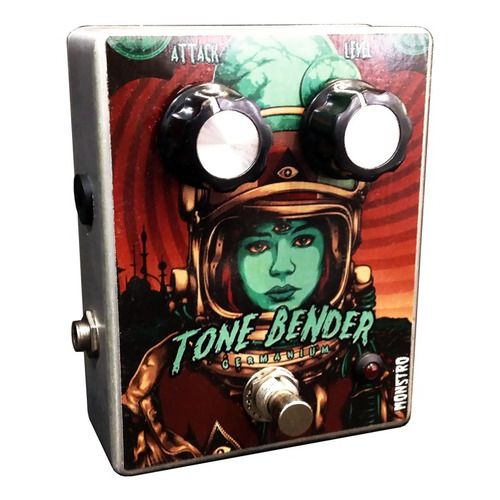 pedal tone bender fuzz mk ii germânio monstro effects vintag