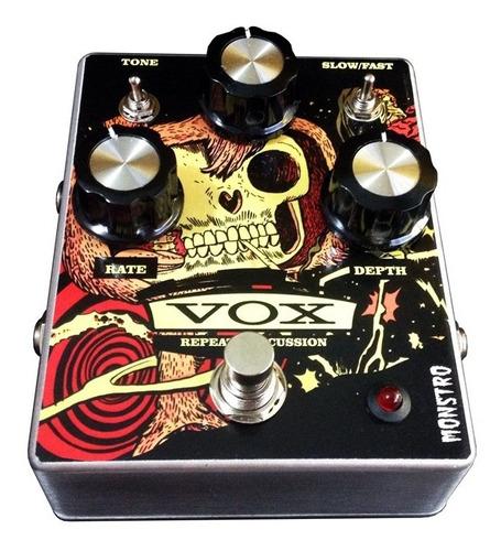 pedal tremolo vox repeat percussion guitarra monstro effects
