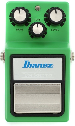 pedal tube screamer overdrive ibanez ts 9