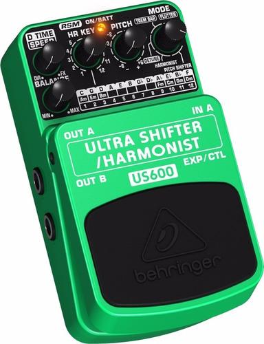 pedal ultra shifter harmonist us600 behringer frete grátis