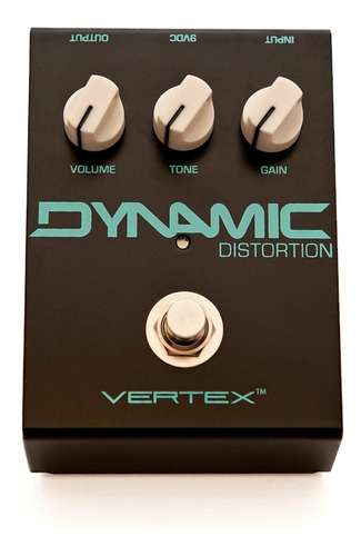 pedal vertex dynamic distortion c/ nf-e & garantia