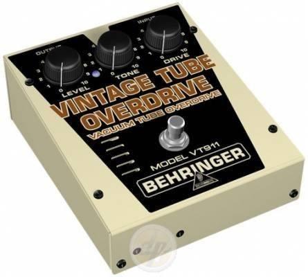 pedal vt911 clásico overdrive válvulas behringer nuevos
