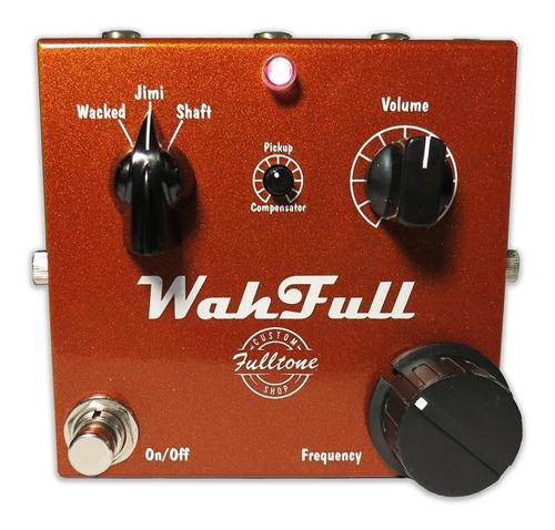 pedal wah fulltone custom shop wahfull fixed wah c/ nfe usa