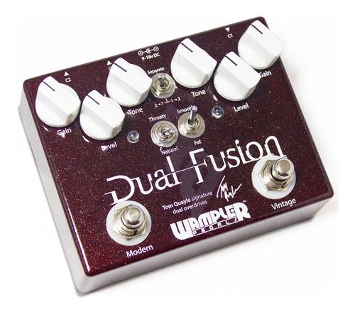 pedal wampler tom quayle dual fusion overdrive c/ nf-e