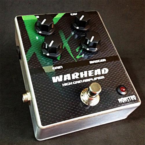 pedal warhead x2 handmade high gain distortion amp in a box