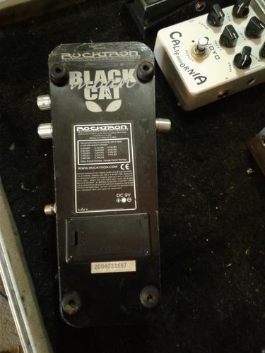 pedal wha-wha rocktron black cat moan