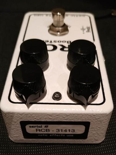 pedal xotic rc booster - muito novo