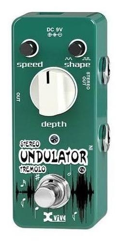 pedal xvive undulator v16 tremolo
