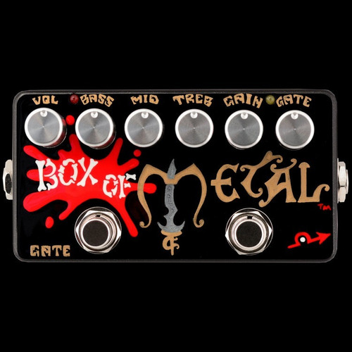 pedal zvex effects box of metal 13th anniversary 2008