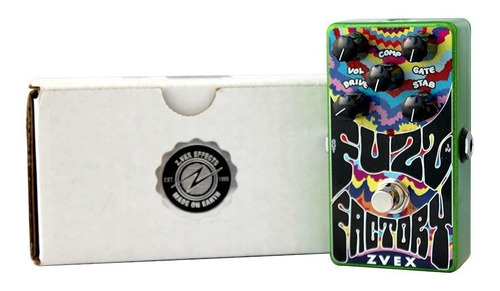 pedal zvex fuzz factory vexter vertical + fonte compativel