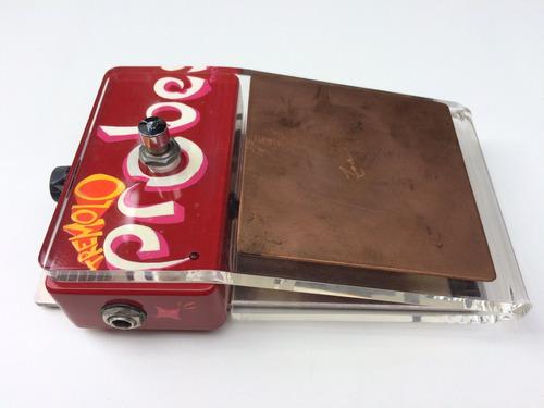 pedal zvex tremolo probe zerado (suhr, keeley, earthquaker)
