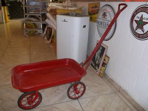 pedalcar antigo brinquedo decada 50