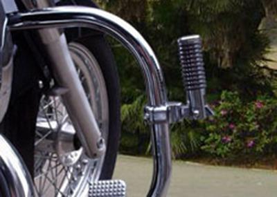 pedaleira auxiliar apoio de pé protetor motor indian scout