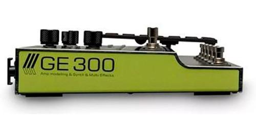 pedaleira de efeitos p/ guitarra mooer ge300