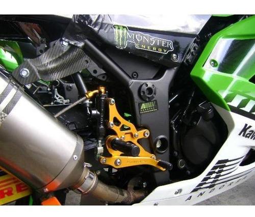 pedaleira esportiva bullet honda cbr600rr 2003...