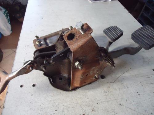 pedaleira freio embreagem peugeot 206 01 02 03 1.0 16v
